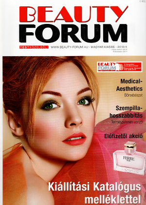 Beauty Forum 2010. április